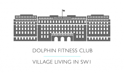 Dolphin Fitness Club logo